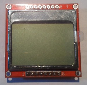 LCD tipo nokia 5110